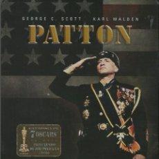 Cine: PATTON ESTUCHE METÁLICOS 2 DISCOS. Lote 201191207