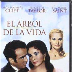 Cine: EL ARBOL DE LA VIDA (MONTGOMERY CLIFT, ELIZABETH TAYLOR) - DVD NUEVO Y PRECINTADO. Lote 269067928