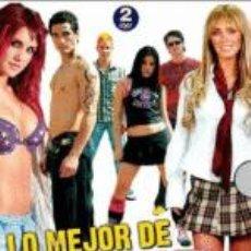 Cinema: PACK LO MEJOR DE REBELDE RBD - 2 DVD NUEVO Y PRECINTADO. Lote 201210123