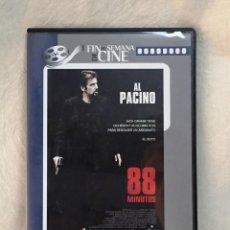 Cine: 88 MINUTOS (2007) - AL PACINO, ALICIA WITT, LEELEE SOBIESKI. Lote 201329160