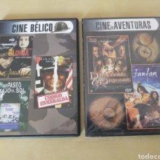 Cine: DVD CINE BÉLICO Y DE AVENTURAS. Lote 201522310
