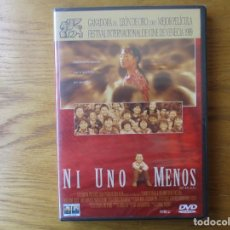 Cine: DVD - NI UNO MENOS - LEON DE ORO VENECIA - PEDIDO MINIMO DE 10€. Lote 201837447
