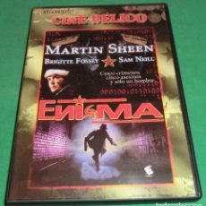 Cine: DVD ENIGMA / MARTIN SHEEN / SAM NEILL ( IMPECABLE||| DE COLECCIONISTA). Lote 201945365