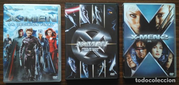 LOTE 3 PELICULAS DE X-MEN. (Cine - Películas - DVD)