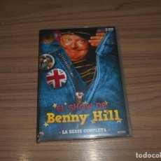 Cine: EL SHOW DE BENNY HILL LA SERIE COMPLETA 5 DVD 750 MIN. 52 EPISODIOS NUEVA PRECINTADA. Lote 293731123