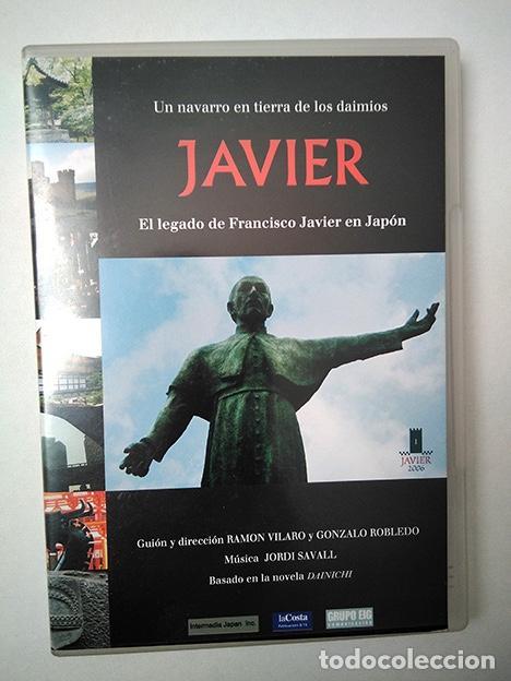 JAVIER. EL LEGADO DE FRANCISCO JAVIER EN JAPÓN. UN NAVARRO EN TIERRAS DE LOS DAIMIOS. DVD PAL 52' (Cine - Películas - DVD)
