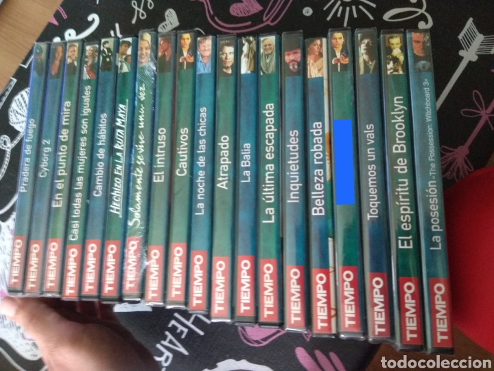 18 PELICULAS DVD COLECCION TIEMPO (Cine - Películas - DVD)