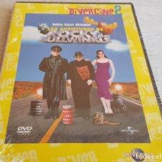Cine: COLECCIÓN DIVERCINE 2 / LAS AVENTURAS DE ROCKY AND BULLWINKLE / DVD-PRECINTADO.. Lote 202421450
