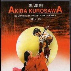 Cine: KUROSAWA COLLECTION DVD (6.DVD ) SELECCIONADOS POR EL PROPIO DIRECTOR PARA SUS SEGUIDORES. Lote 202483466