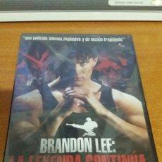 Cine: LA LEYENDA CONTINUA BRANDON LEE PRECINTADO. Lote 93375843