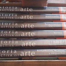 Cine: HISTORIA INTERACTIVA DEL ARTE 6 DVD. Lote 202846521