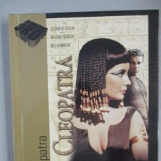 Cine: DVD - CLEOPATRA / CON LIBRO - PEDIDO MINIMO DE 10€. Lote 202940515