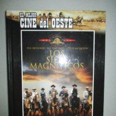 Cine: DVD - LOS SIETE MAGNIFICOS - CON LIBRO - PEDIDO MINIMO DE 10€. Lote 202941757