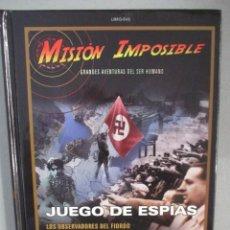 Cine: DVD - MISION IMPOSIBLE / JUEGO DE ESPIAS - CON LIBRO - PEDIDO MINIMO DE 10€. Lote 202942642