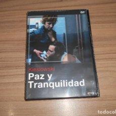 Cinema: PAZ Y TRANQUILIDAD DVD KIESLOWSKI NUEVA PRECINTADA. Lote 271030448