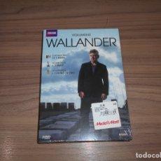 Cine: WALLANDER VOLUMEN 2 3 DVD 270 MIN. NUEVA PRECINTADA. Lote 243767550