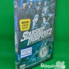 Cine: PELÍCULA DVD. STARSHIP TROOPERS 2. PRECINTADA. CIENCIA FICCIÓN Y ACCIÓN. AÑO 2004.. Lote 266516213