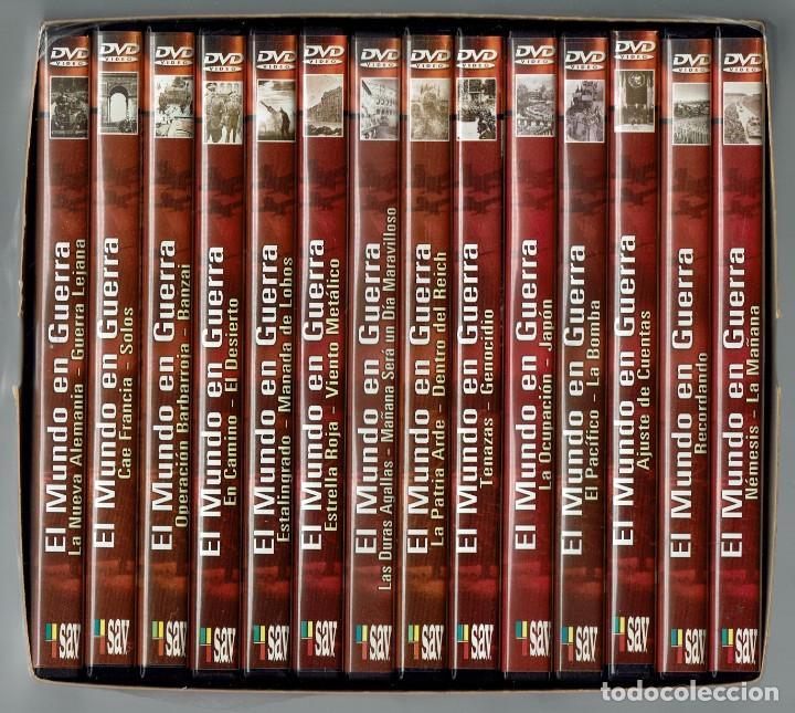 EL MUNDO EN GUERRA. COLECCIÓN COMPLETA DE 14 DVD SIN ESTRENAR. (11.5) (Cine - Películas - DVD)