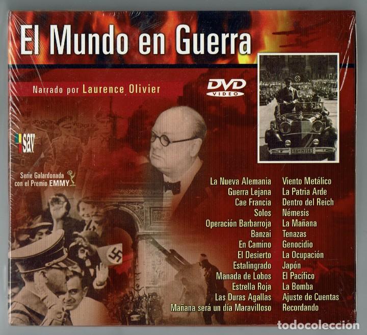 Cine: EL MUNDO EN GUERRA. COLECCIÓN COMPLETA DE 14 DVD SIN ESTRENAR. (11.5) - Foto 2 - 203492096