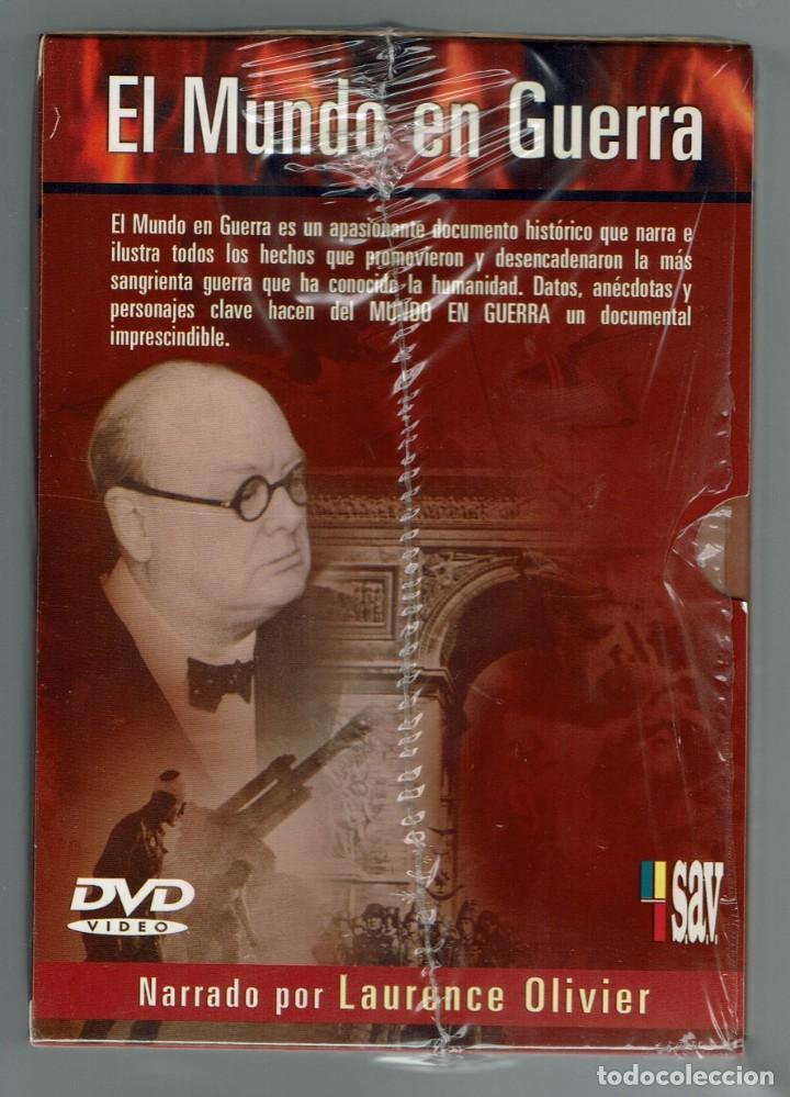 Cine: EL MUNDO EN GUERRA. COLECCIÓN COMPLETA DE 14 DVD SIN ESTRENAR. (11.5) - Foto 3 - 203492096