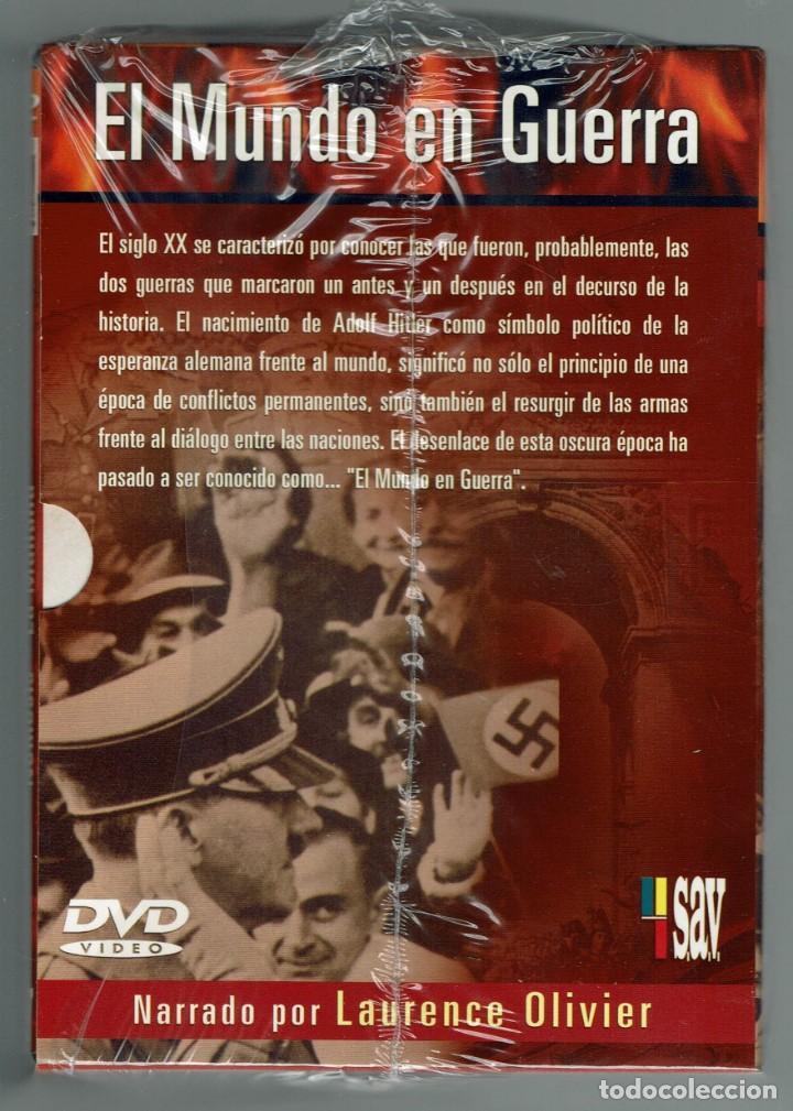 Cine: EL MUNDO EN GUERRA. COLECCIÓN COMPLETA DE 14 DVD SIN ESTRENAR. (11.5) - Foto 4 - 203492096