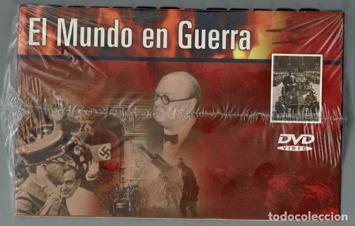 Cine: EL MUNDO EN GUERRA. COLECCIÓN COMPLETA DE 14 DVD SIN ESTRENAR. (11.5) - Foto 5 - 203492096