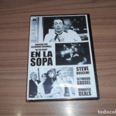 Cine: EN LA SOPA DVD STEVE BUSCEMI SEYMOUR CASSEL JENNIFER BEALS NUEVA PRECINTADA. Lote 218469400