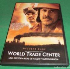 Cine: DVD WORLD TRADE CENTER / NICOLAS CAGE (DE COLECCIONISTA...IMPECABLE). Lote 203969650