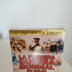Cine: 3 DVD-LA SEGUNDA GUERRA MUNDIAL COLOR, MÁS 7 HORAS EXTRAS(NUEVO-PRECINTADO) VER FOTOS. Lote 204124376