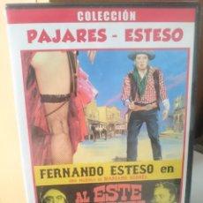 Cine: DVD - AL ESTE DEL OESTE - FERNANDO ESTESO - ANTONIO OZORES - JUANTIO NAVARRO. Lote 204229112