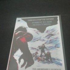 Cinema: REF.1449 EL ABOMINABLE HOMBRE DE LAS NIEVED - DVD NUEVO A ESTRENAR. Lote 204254551
