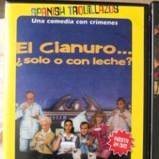 Cine: EL CIANURO, SOLO O CON LECHE?. Lote 204292660