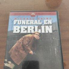 Cinema: FUNERAL EN BERLÍN DVD. Lote 204383383