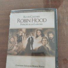 Cine: ROBIN HOOD EL PRÍNCIPE DE LOS LADRONES DVD. Lote 204456221
