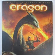 Cine: DVD ERAGON EDICION ESPECIAL 2 DISCOS. Lote 204508637