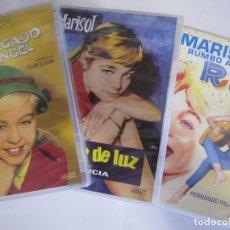 Cine: LOTE 3 DVD MARISOL HA LLEGADO UN ANGEL UN RAYO DE LUZ MARISOL RUMBO A RIO. Lote 204647642