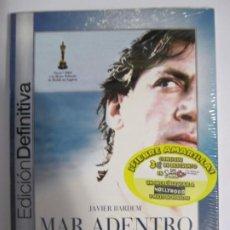 Cine: DVD MAR ADENTRO ALEJANDRO AMENABAR JAVIER BARDEM NUEVO PRECINTADO. Lote 204695236