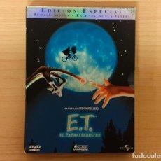 Cine: E.T. EL EXTRATERRESTRE (E.T. THE ESTRA-TERRESTRIAL) EDICIÓN 20 ANIVERSARIO 2 DISCOS SPIELBERG. Lote 204766722