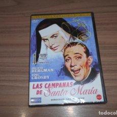 Cine: LAS CAMPANAS DE SANTA MARIA DVD BING CROSBY INGRID BERGMAN NUEVA PRECINTADA. Lote 269747633