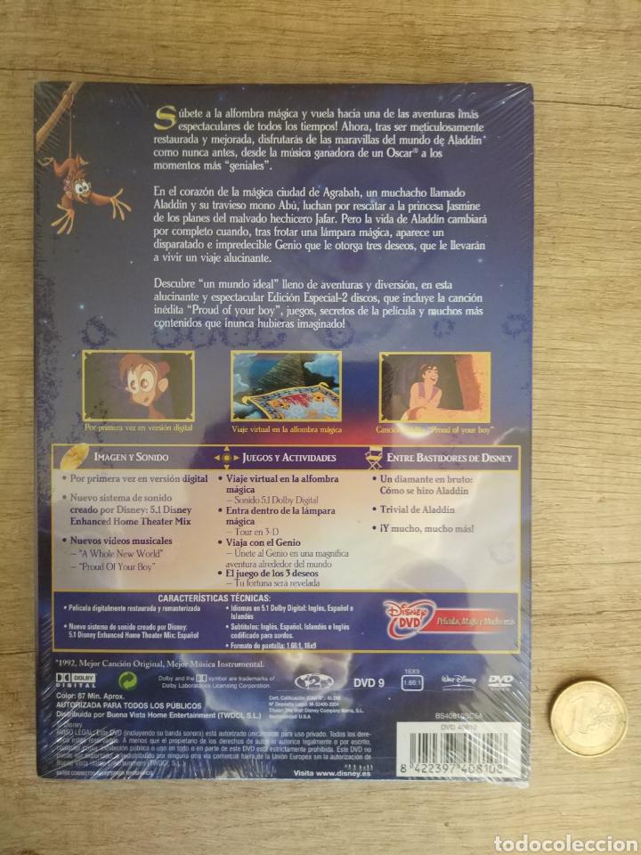 Cine: Aladdin Edición Especial - 2 DVD Disney Precintado - Foto 2 - 204806297