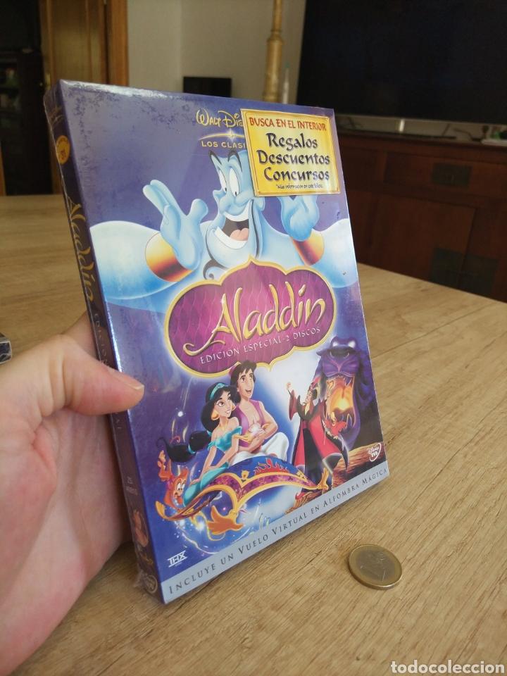 Cine: Aladdin Edición Especial - 2 DVD Disney Precintado - Foto 8 - 204806297