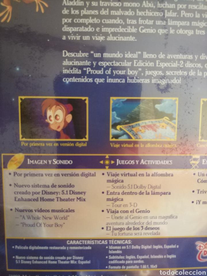 Cine: Aladdin Edición Especial - 2 DVD Disney Precintado - Foto 11 - 204806297