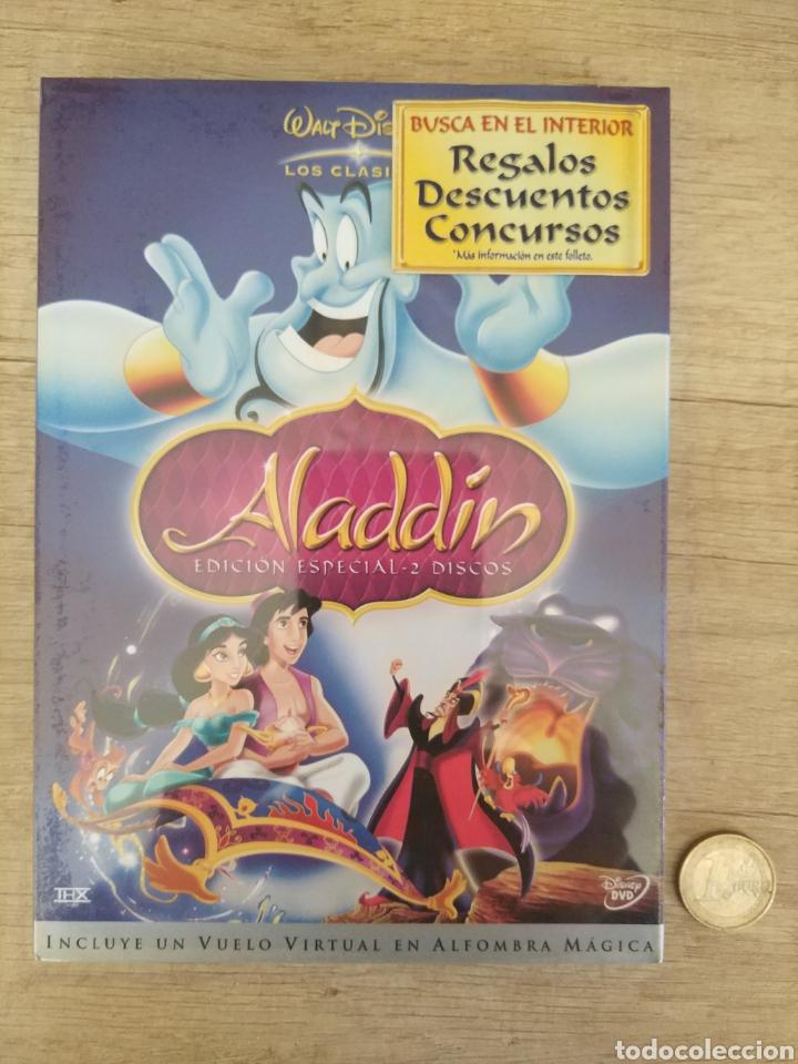 ALADDIN EDICIÓN ESPECIAL - 2 DVD DISNEY PRECINTADO (Cine - Películas - DVD)