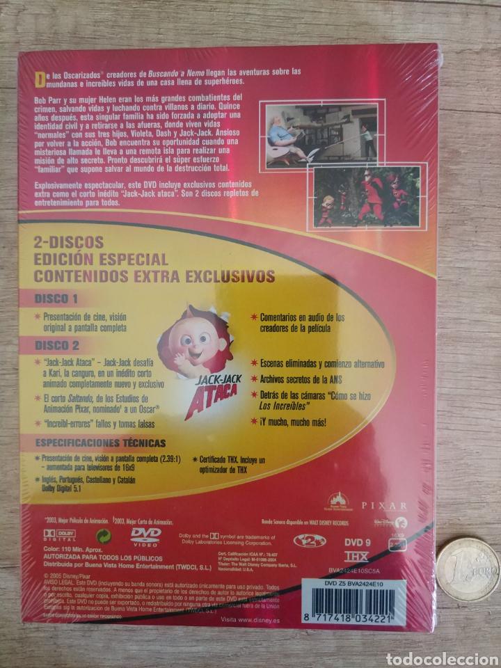 Cine: LOS INCREIBLES EDICIÓN ESPECIAL 2 DVD. PRECINTADO - Foto 2 - 204826641