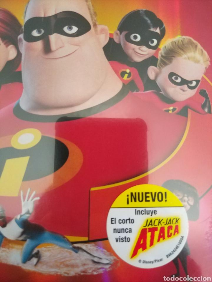 Cine: LOS INCREIBLES EDICIÓN ESPECIAL 2 DVD. PRECINTADO - Foto 6 - 204826641