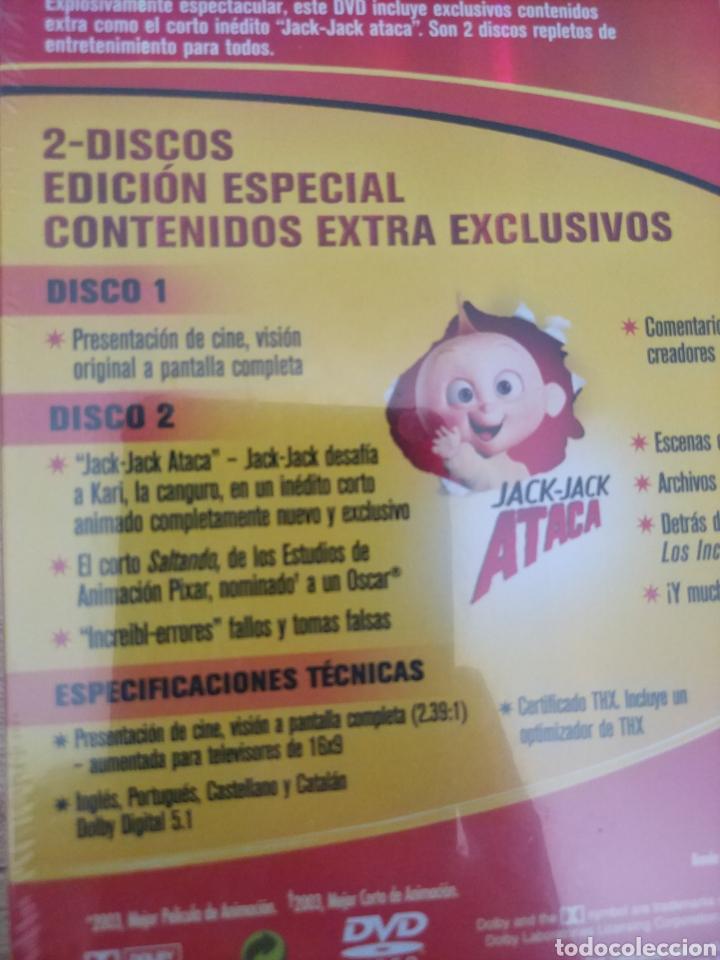 Cine: LOS INCREIBLES EDICIÓN ESPECIAL 2 DVD. PRECINTADO - Foto 9 - 204826641