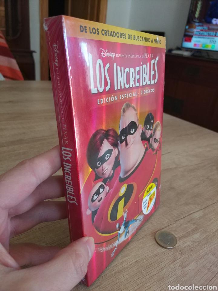 Cine: LOS INCREIBLES EDICIÓN ESPECIAL 2 DVD. PRECINTADO - Foto 10 - 204826641