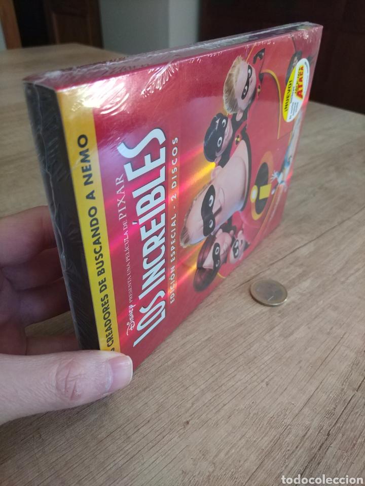 Cine: LOS INCREIBLES EDICIÓN ESPECIAL 2 DVD. PRECINTADO - Foto 13 - 204826641