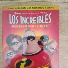 Cine: LOS INCREIBLES EDICIÓN ESPECIAL 2 DVD. PRECINTADO. Lote 204826641