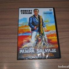 Cine: PAMPA SALVAJE DVD ROBERT TAYLOR NUEVA PRECINTADA. Lote 277648693